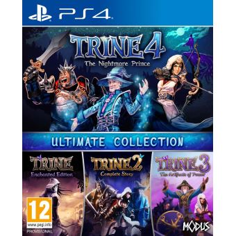 Trine 4 The Nightmare Prince Ultimate Collection PS4