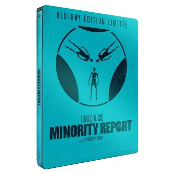 Minority Report Edition Limitée Steelbook Blu-ray