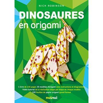 Dinosaures en origami