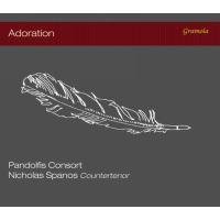Adoration/oeuvres pour contre tenor et ensemble