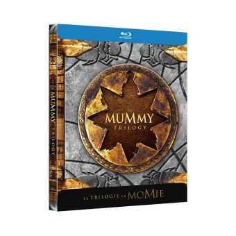 MummyLa Momie La Trilogie Steelbook Blu-ray