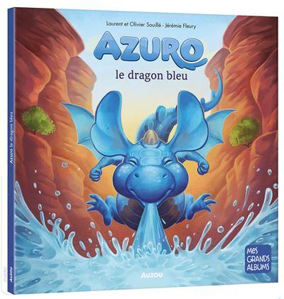 Azuro, le dragon bleu (grand format)