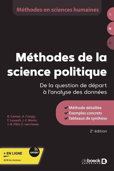 Méthodes de la science politique