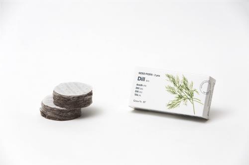 Kit de 2 capsules d'aneth pour mini-potager Tregren
