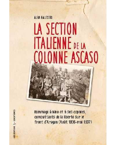 La section italienne de la colonne Ascaso