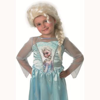 Perruque Elsa Frozen La Reine des neiges Disney