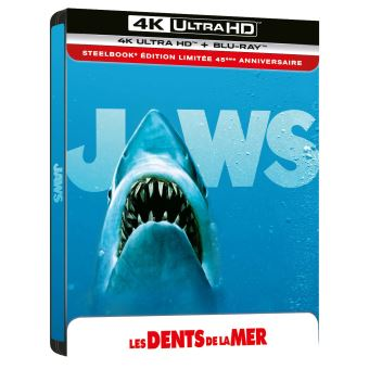 Les Dents de la merLes Dents de la mer Steelbok Blu-ray 4K Ultra HD