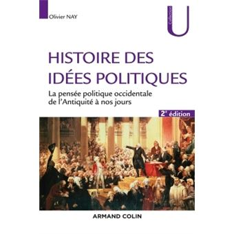 Histoire des idées politiques , 2e éd. , La pensée politique occidentale de  l\u0027