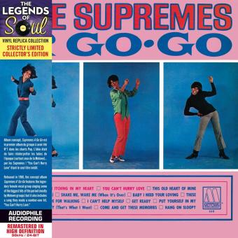 Supremes A Go Go - Paper Sleeve - CD Vinyl Replica Deluxe