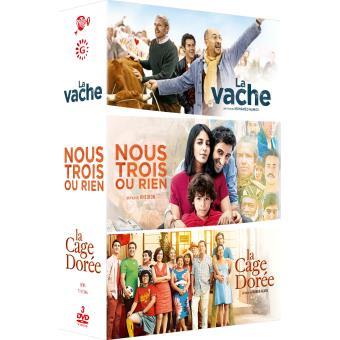 Coffret La Vache + Nous trois ou rien + La cage dorée DVD