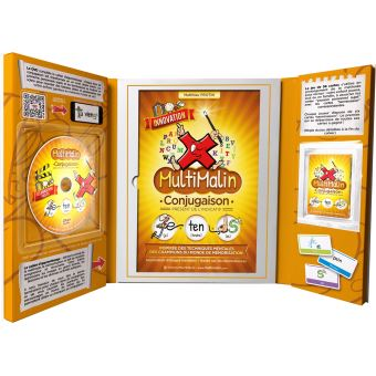 Coffret Multimalin, Conjugaison