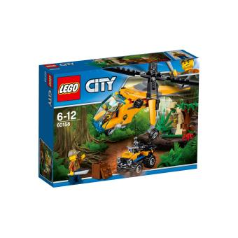 LEGO® City 60158 L'hélicoptère cargo de la jungle