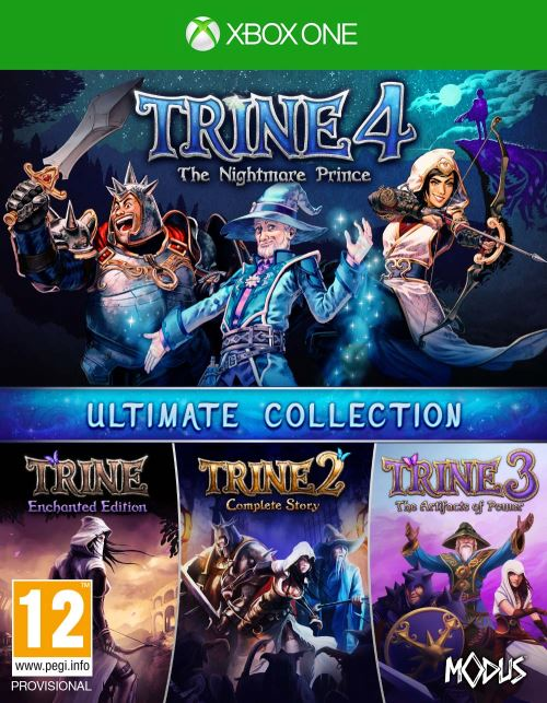 Trine 4 The Nightmare Prince Ultimate Collection Xbox One