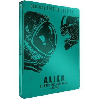 AlienAlien, le huitième passager Edition Limitée Steelbook Blu-ray