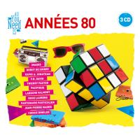 ALL YOU NEED IS ANNEE 80/3CD