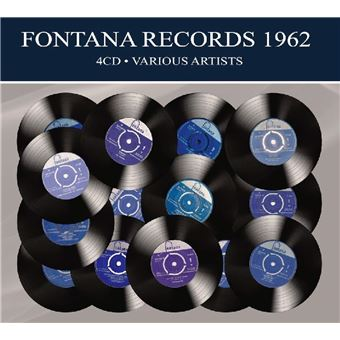 FONTANA RECORDS ALBUMS/4CD