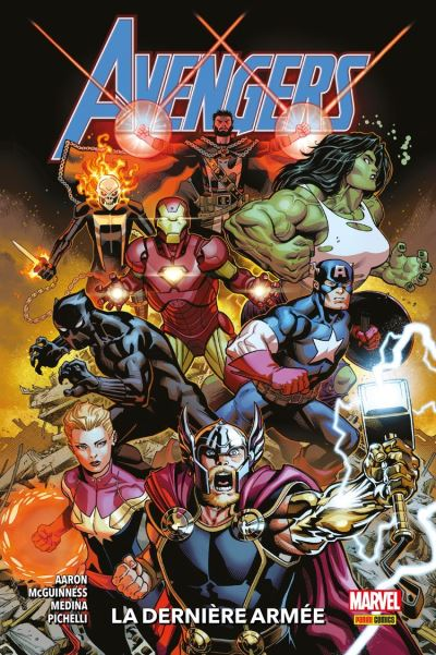 Avengers (2018) T01 - La dernière armée - 9782809492187 - 14,99 €
