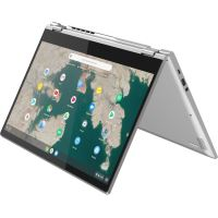 "Chromebook Lenovo C340 15.6"" Tactile Intel Core i3 4 Go RAM 128 Go SSD Argent"