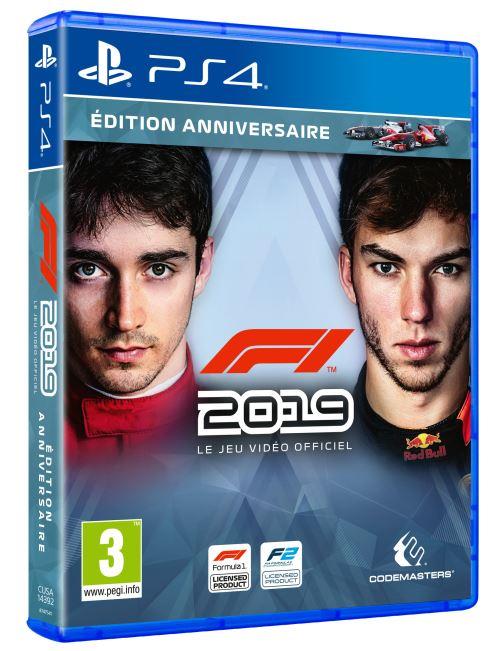 F1 2019 Edition Anniversaire PS4