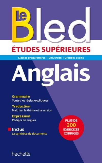 Bled supérieur Anglais - 9782016253540 - 9,99 €