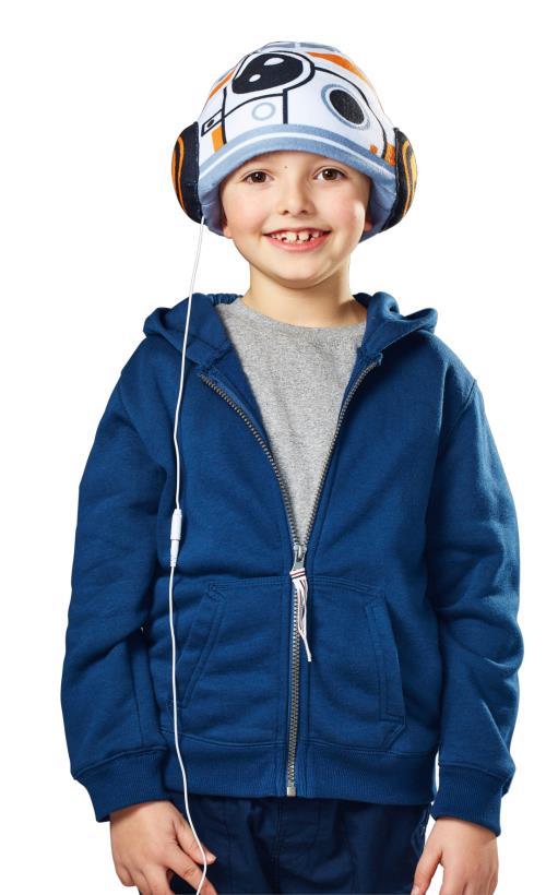 Bonnet avec écouteurs intégrés BB8 Star Wars Headphone Hats Cool Music