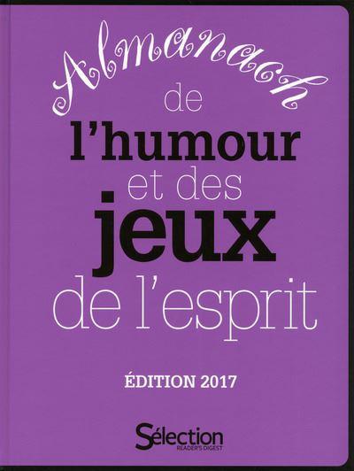 L'Almanach de l'humour et des jeux de l'esprit 2017