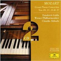 Concertos pour piano 20 21 25 et 27