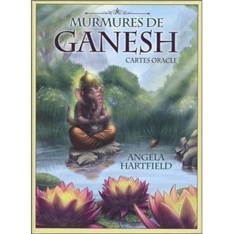 murmures de ganesh coffret avec 50 cartes oracle coffret angela hartfield achat livre fnac. Black Bedroom Furniture Sets. Home Design Ideas