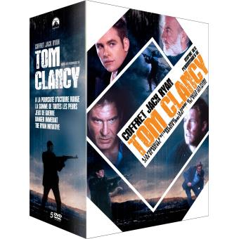 Coffret Tom Clancy 2016 5 films DVD