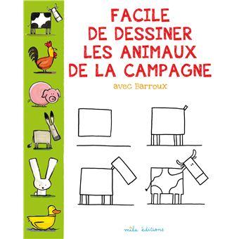 Facile A Dessiner Les Animaux De La Campagne Broche Barroux