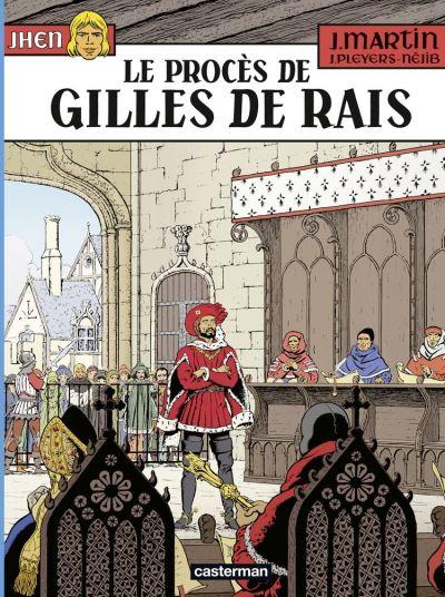 Jhen (Tome 17) - Le procès de Gilles de Rais - 9782203191440 - 8,99 €