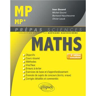 mathematiques mpmp nouveau programme broche ivan gozard achat livre fnac