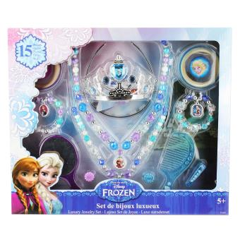 Grand set de bijoux luxueux frozen la reine des neiges kit cr atif achat prix fnac - Boite a bijoux reine des neiges ...