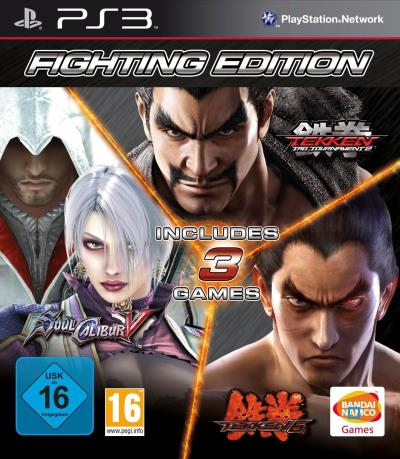 Fighting Edition : SoulCalibur V + Tekken 6 + Tekken Tag Tournament 2 PS3