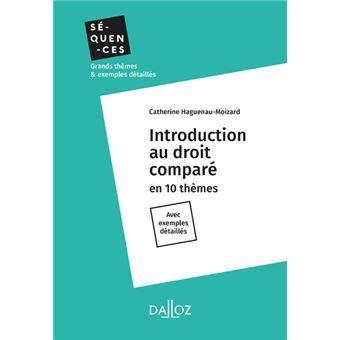 Introduction au droit comparé - Nouveauté