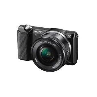 Hybride Sony A5000 noir + Objectif 16-50 mm PZ