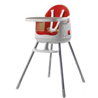 Chaise Haute 3 En 1 Baby To Love Multi Dine Rouge