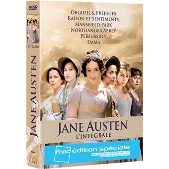 Coffret Jane Austen Intégrale Edition Spéciale Fnac DVD