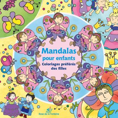 Mandalas pour enfants - Coloriages préférés des filles