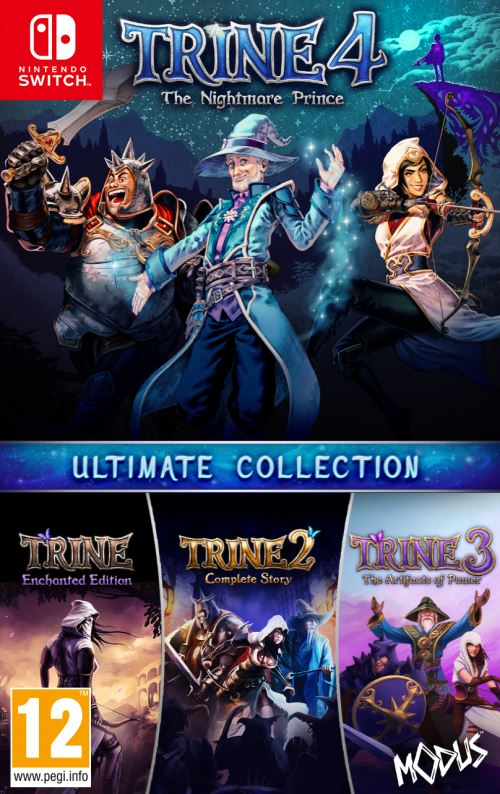 Trine 4 The Nightmare Prince Ultimate Collection Nintendo Switch