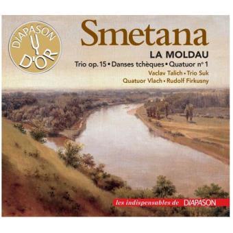 Smetana : La Moldau, Trio Opus 15, Danses tchèques, Quatuor numéro 1
