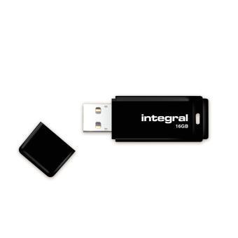 Clé USB 2.0 Integral 16 Go Noire