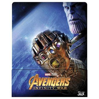 AvengersAvengers : Infinity War Steelbook Blu-ray 3D