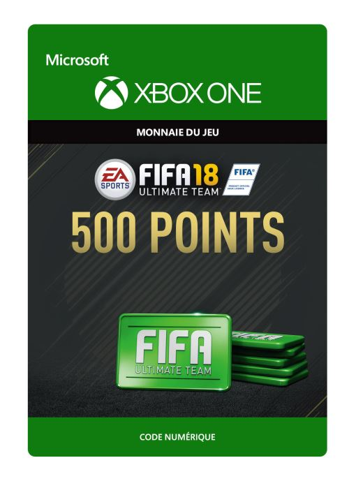 FIFA 18 : Ultimate Team FIFA Points 500 - Code de télechargement - Xbox One