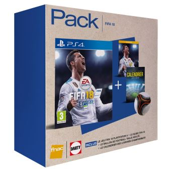 pack fnac fifa 18 ps4 jeux vid o achat prix fnac. Black Bedroom Furniture Sets. Home Design Ideas