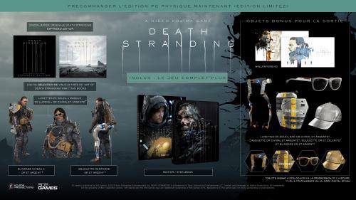Death Stranding Steelbook Edition PC