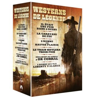 Coffret Western 6 Films DVD
