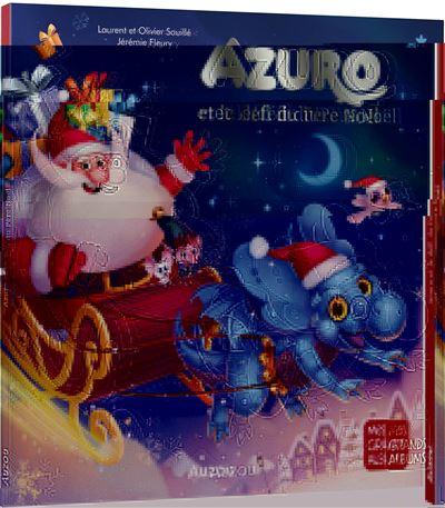 Azuro et le defi du pere noel (grand format)