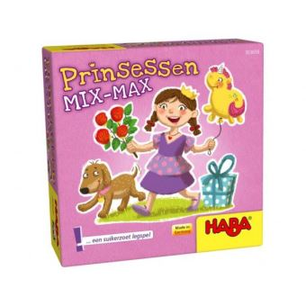 Supermini spel - Prinsessen mix-max
