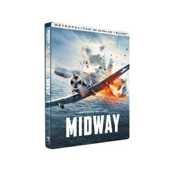 Midway Edition Limitée Steelbook Blu-ray 4K Ultra HD